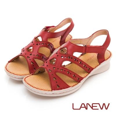 LA NEW 優纖淨 抑菌消臭 氣墊涼鞋(女225060150)