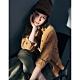 NAVY-燈芯絨長袖襯衫-情侶款-女【A2NA058】 product thumbnail 1