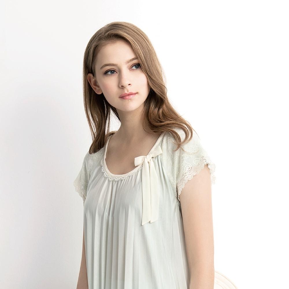 RoseMaid 羅絲美 - 輕柔樂曲短袖褲裝睡衣(柔嫩綠) (柔嫩綠)