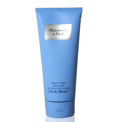 Abercrombie & Fitch First Instinct Blue 湛藍身體乳200ml