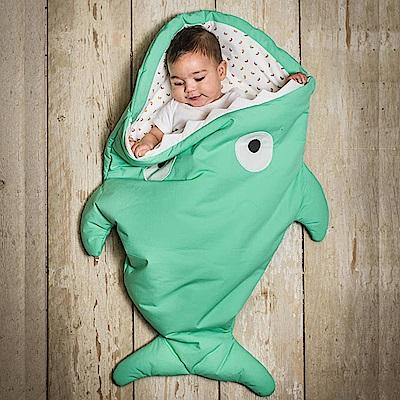 【嬰幼兒標準版-青草綠】BabyBites西班牙鯊魚咬一口睡袋