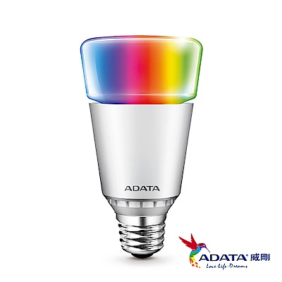 ADATA威剛 AURA 7W智慧型RGB藍芽調光調色燈泡