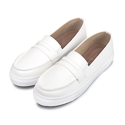 BuyGlasses 優雅LADY專屬懶人鞋-白