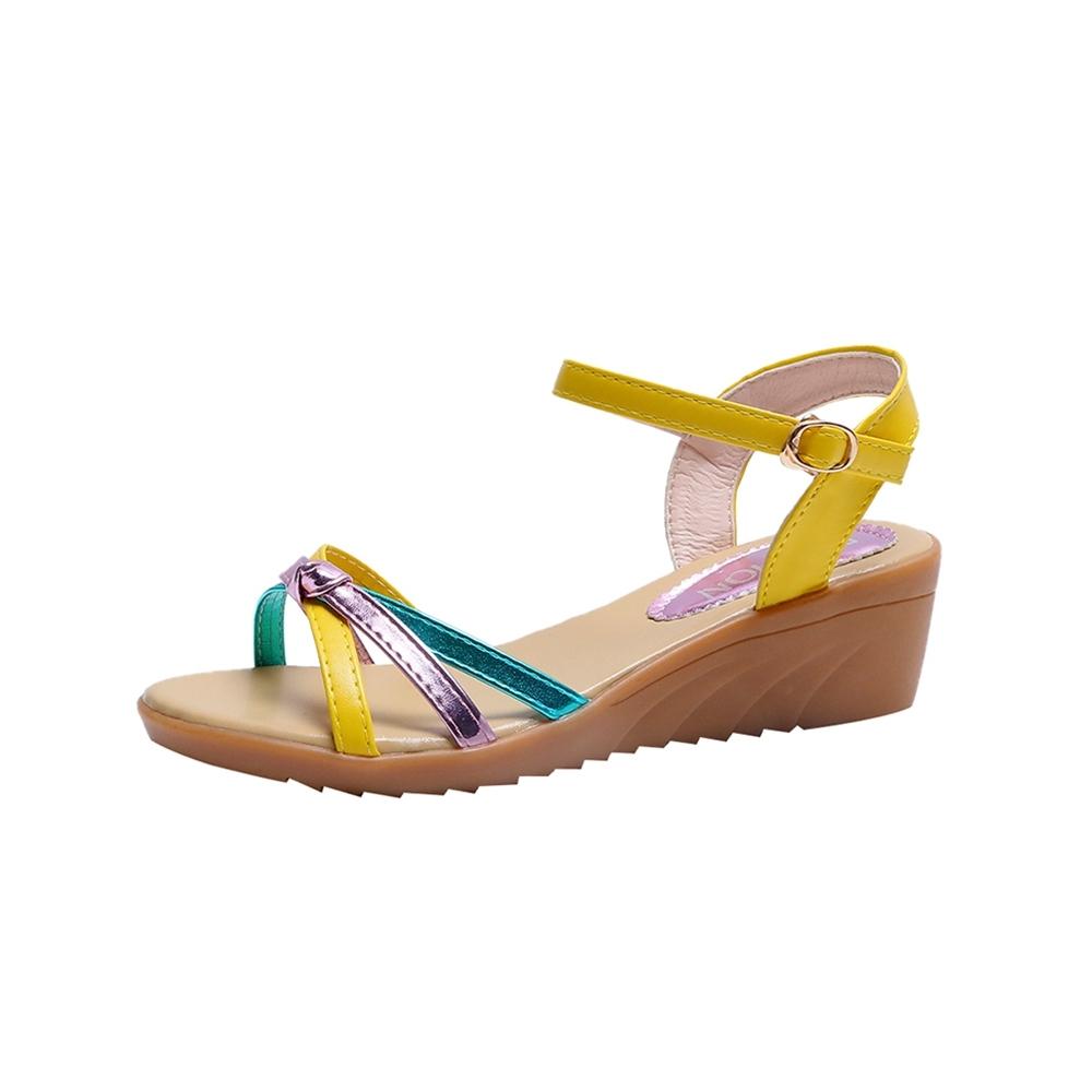 KEITH-WILL時尚鞋館時尚穿搭狂賣千雙楔型涼鞋