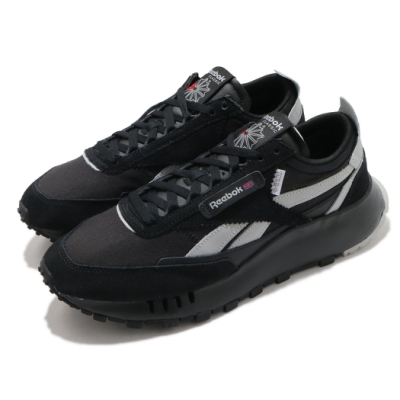 Reebok 休閒鞋 CL Legacy 運動 男女鞋 基本款 復古鞋型 簡約 情侶穿搭 黑 灰 H04997