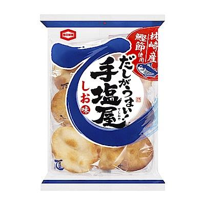 龜田製果 手鹽屋柴魚鹽味仙貝(120.5g)