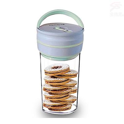 金德恩 高科技智能晶片提把式真空保鮮罐禮盒1.8L