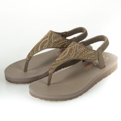 SKECHERS  女休閒系列 涼鞋 MEDITATION-32919TPE