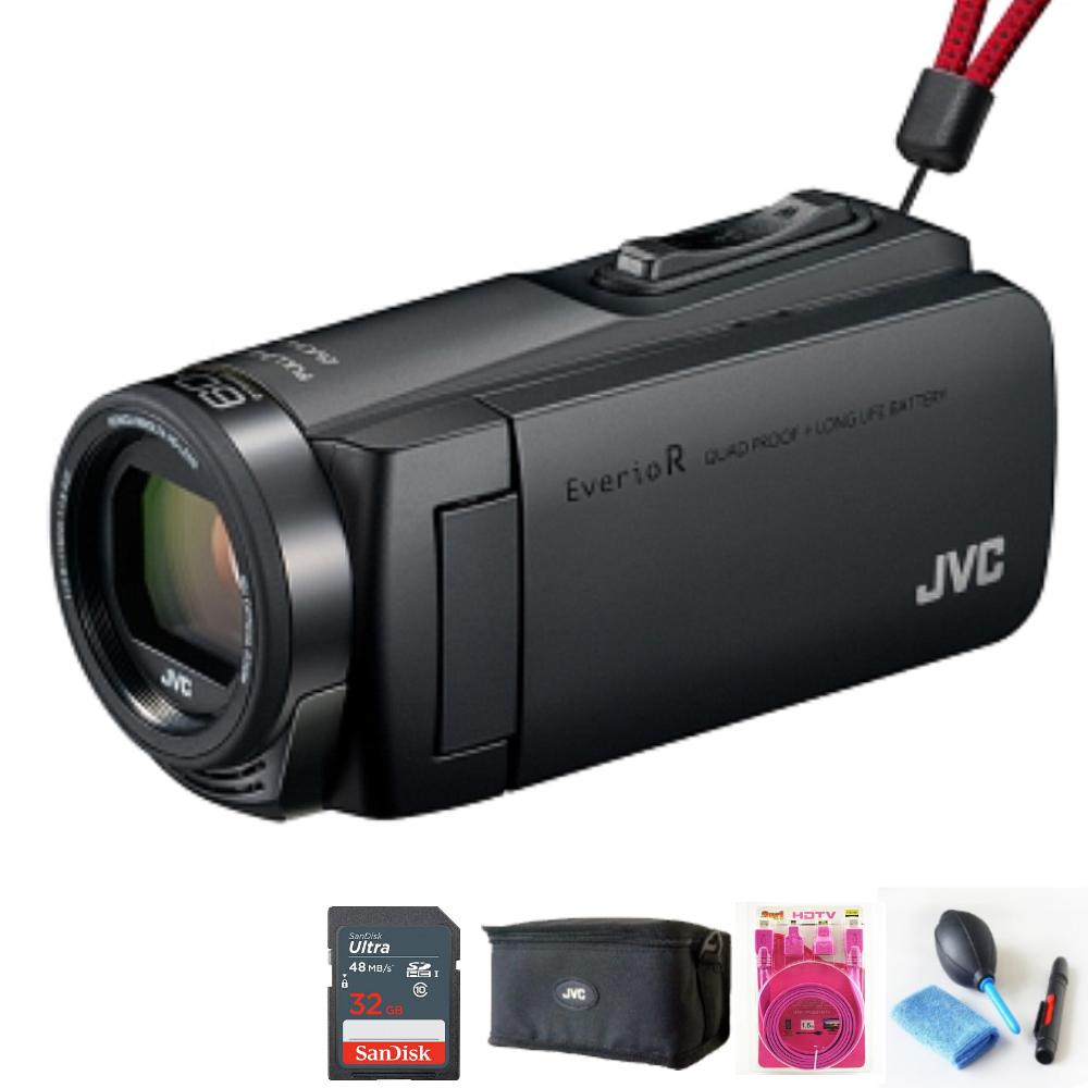 JVC GZ-R470 防水防塵防寒防摔 數位攝影機(公司貨)-黑色