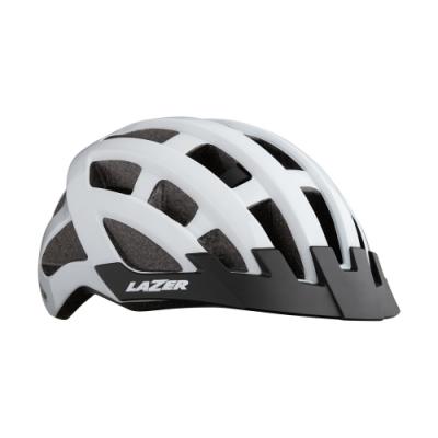 【LAZER】COMPACT 自行車安全帽 白色