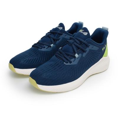 【FILA】SHADOW WALKER 慢跑鞋 男鞋-深藍(1-J314V-311)