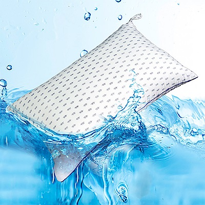 BUNNY LIFE 可水洗抗菌MIT高彈枕-2入