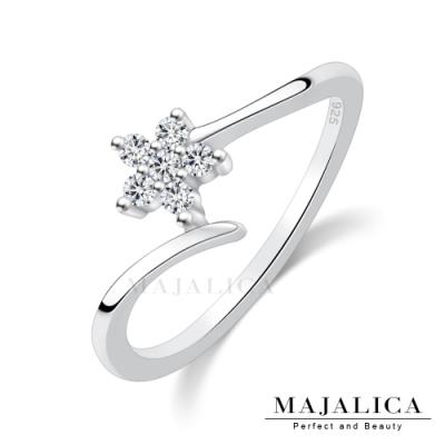 Majalica幸運花語女戒尾戒925純銀戒指推薦品牌 單個價格(MIT)