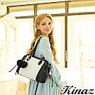 KINAZ 溫柔笑顏兩用斜背托特包-黛安娜系列
