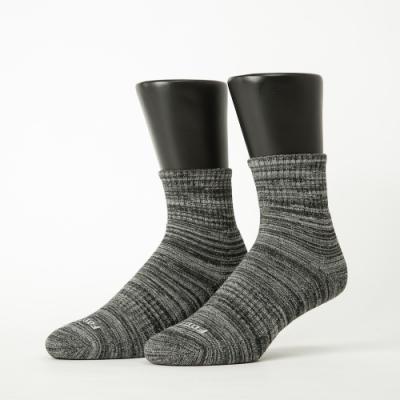 Footer除臭襪-混色潮流氣墊襪-六雙入(水藍*2+灰黑*2+亮紅*2)