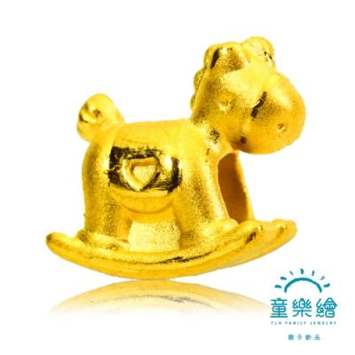 童樂繪金飾 旋轉木馬Merry-go-round手繩 約重0.27錢±3厘 彌月金飾
