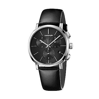 CALVIN KLEIN Posh 潮流系列三眼計時款手錶