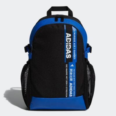 ADIDAS 後背包 書包 加大容量 運動  黑藍 FM6837 POWER BADGE OF SPORT