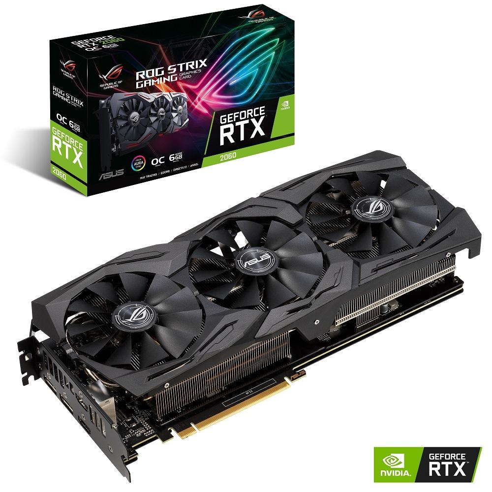 華碩 ASUS ROG Strix GeForce RTX2060 O6G GAMING 顯示卡