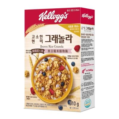 家樂氏 黑豆糙米穀物脆-莓果豆漿塊(310g)