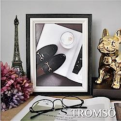 TROMSO 巴黎撞色木紋6x8相框-黑