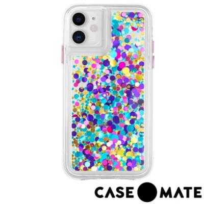 美國 Case●Mate iPhone 11 絢彩亮片瀑布防摔手機保護殼