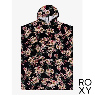 【ROXY】STAY MAGICAL PRINTED 浴巾衣 黑色