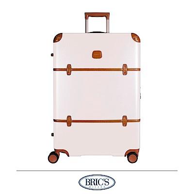 BRICS 義大利經典款 30吋 防潑水拉鍊箱 米白色 飛機輪