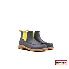 HUNTER - 男鞋 - 馬克工作雙色霧面踝靴 - 灰