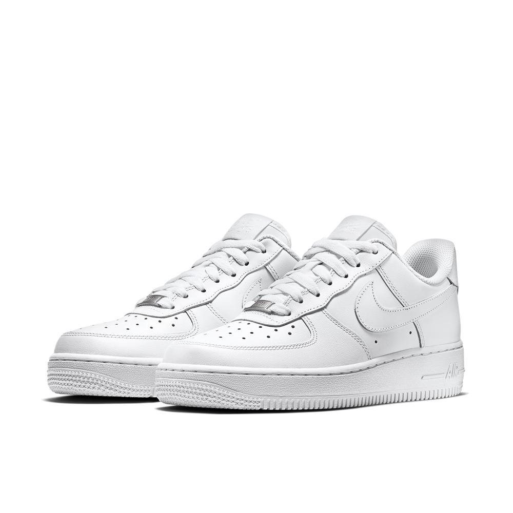 NIKE 休閒鞋 運動 慢跑 復古 女鞋 白 315115112 Air Force 1 07 LE