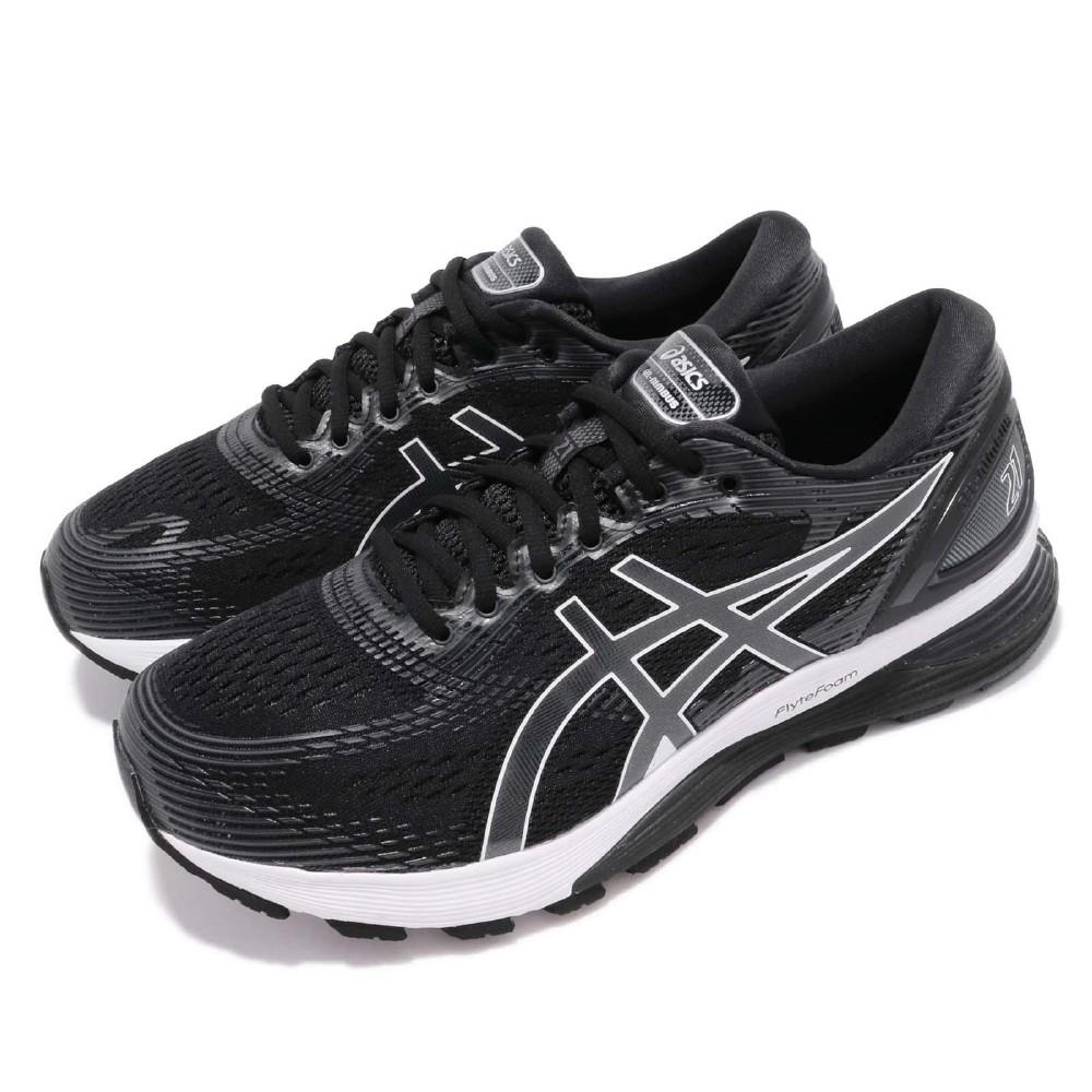 Asics 慢跑鞋 Gel Nimbus 21 4E 運動 男鞋