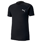 PUMA-男性基本系列Evostripe短袖T恤-黑色-亞規
