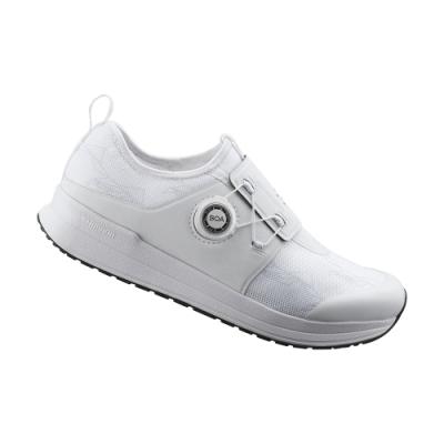 【SHIMANO】IC300 女性飛輪車鞋 白色