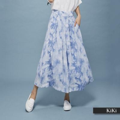 【KiKi】夏季渲染設計-長裙(二色)