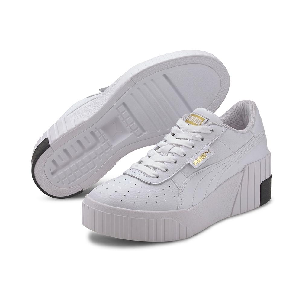 PUMA-Cali Wedge Wn's 女性復古休閒鞋-白色