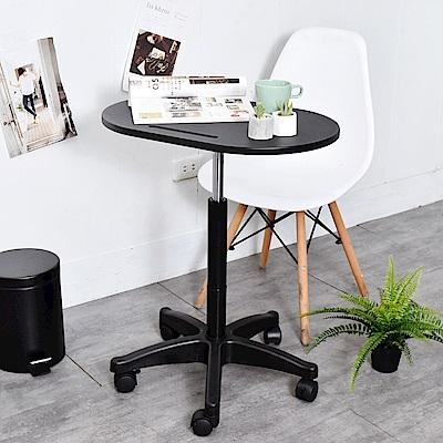 凱堡 活動升降桌(特規20公分升降)工作桌學習桌移動桌60x40x60cm