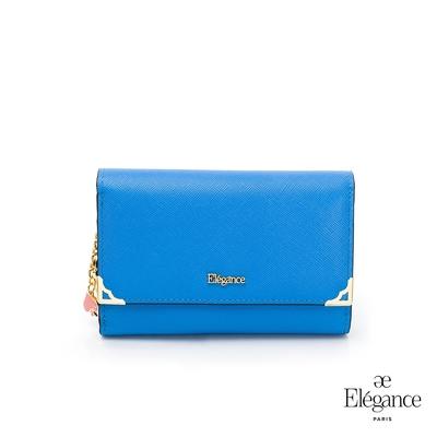 【Elegance】LIVELY 十字紋中夾-藍色