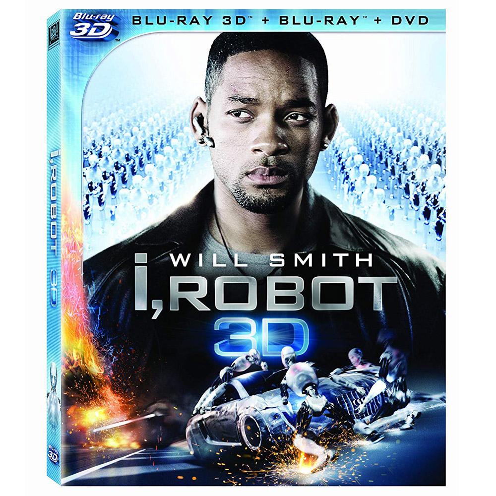 機械公敵 3D/2D  I, Robot  藍光 BD