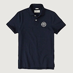 AF a&f Abercrombie & Fitch POLO 藍色 0822