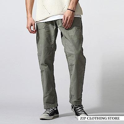 古著補釘工作褲(2色) ZIP日本男裝