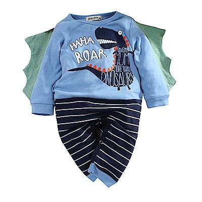 恐龍造型長袖連身衣 k60748 魔法Baby