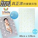 Lolbaby Hi Jell-O涼感蒟蒻床墊加大_涼嬰兒兒童床墊(熱帶小魚)