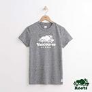 女裝Roots-溫哥華城市短袖T恤-灰色