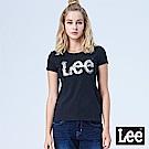 Lee 水彩大LOGO短袖Tee-黑色