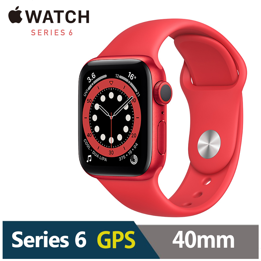 Apple Watch S6 40mm 鋁金屬錶殼配運動錶帶(GPS) product image 1