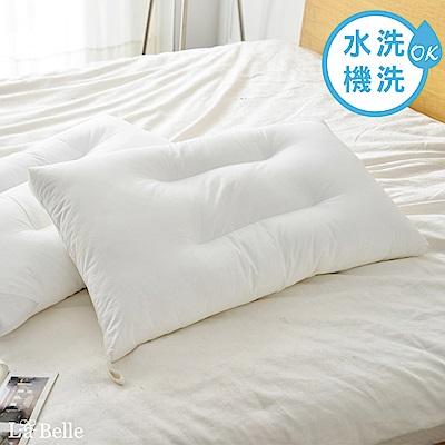 義大利La Belle 高效透氣抑菌水洗枕 二入