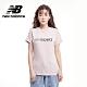 【New Balance】SPEED 品牌字樣短袖Tee_女性_灰粉紅_AWT03511SCI product thumbnail 1