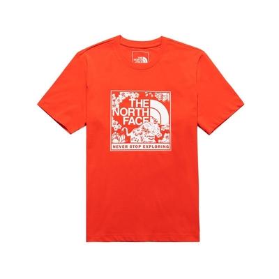 The North Face 男女 CNY 短袖T恤 紅-NF0A4U8S15Q