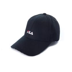FILA 時尚LOGO帽-黑 HTU-5004-BK