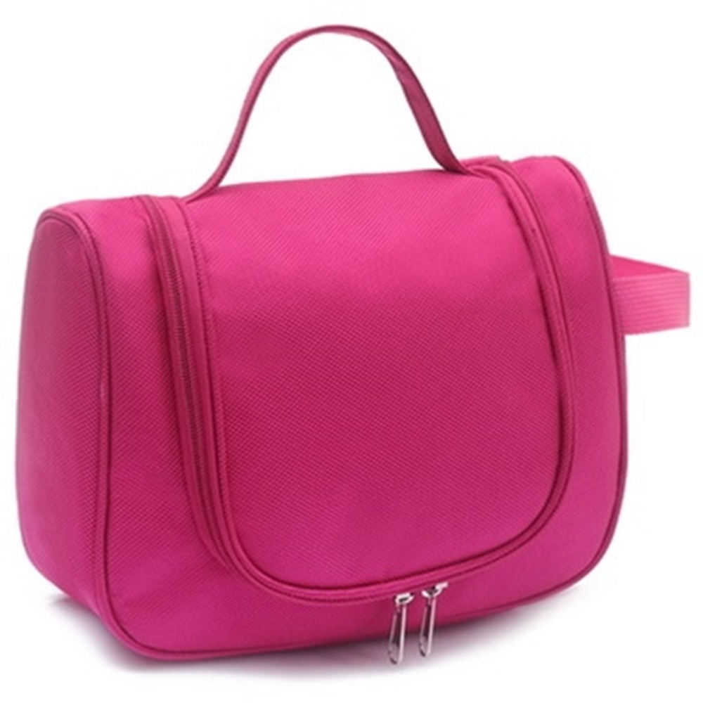 米蘭精品 化妝包隨身收納包-大空間多隔層攜便女包情人節生日禮物73d5